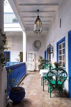 Terrace at Villa Maroc in Essaouira, Morocco Riad Essaouira, Riad Marrakech, Marrakesh, Aix En Provence, Algarve, Outdoor Spaces, Outdoor Living, Outdoor Decor, Morocco Travel