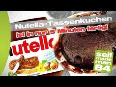 NUTELLA-Tassen-Kuchen in nur 5 Minuten!!! - selfmademan84 - YouTube