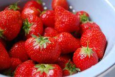 Strawberries by Lilyflossie, via Flickr
