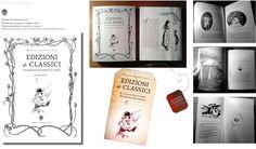 Edizioni di classici. L'illustrazione nell'editoria per l'infanzia.  Libro e segnalibro.