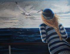 Nicole Le Groumellec, Une île 2 on ArtStack #nicole-le-groumellec #art