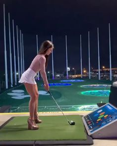 For hockey gamers, it could perhaps assist compare the golf swing to the slap shot, but that's a stretch. To me, the split-handed drill teaches . Best Golf Club Sets, Best Golf Clubs, Ladies Golf Clubs, Girls Golf, Cute Golf Outfit, Girl Golf Outfit, Sexy Golf, Golf Videos, Men With Street Style