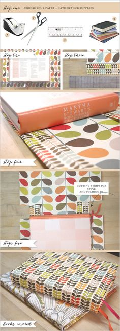 DIY how to cover a book