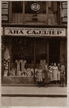 Beograd - 1930-tih - ul. Kneginje Ljubice - salon Sajdler