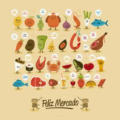 Feliz Cádiz! by Raul Gomez estudio, via Behance