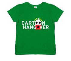 Women's Cartoon Hangover w/ Yellow Halo T-Shirt