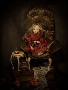 ''Nouvelle'' handmade ooak doll by Romantic Wonders