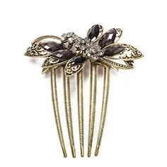 Hair Accessories Vintage Hair Comb Bridal Butterfly Black Pins 91x78mm FACILLA http://www.amazon.com/dp/B00LQG8B3K/ref=cm_sw_r_pi_dp_f6qMwb028K07W