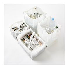 x DIMPA Recycling bag, set of 4 - IKEA - $ 5.99 not only to use for recycling items. Suits also as waste bag, laundry item bag, dirt bag and many more