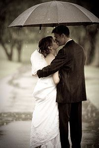 Reasons Why a Rainy Wedding Day Rules - Kimberley and Kev
