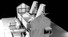 sixtensason: jai—me: Tract House A selection of drawings and models which describe the 'Tract House'. Aproject completed in 1987 by Los Angeles based Architect Wes Jones. That model is crazy intricate… Wes Jones