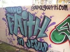 Jesus saves graffiti
