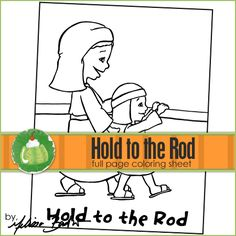 Hold to the Rod Printable Coloring Page