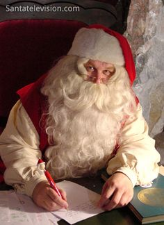 O Papai Noel vive em Rovaniemi na Lapônia, na Finlândia