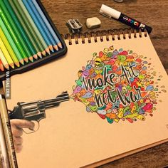 Make art, not war... A strong quote made by a 16-year-old