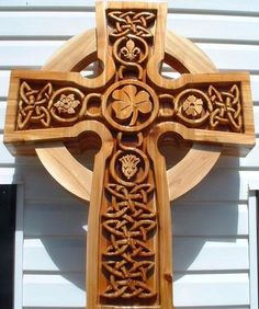 Celtic Cross built by Gregory