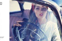 Carola Remer is Ladylike for El Libro Amarillo by David Roemer