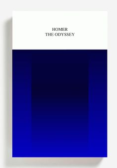 Homer, The Odyssey. #book #cover by Peter Mendelsund