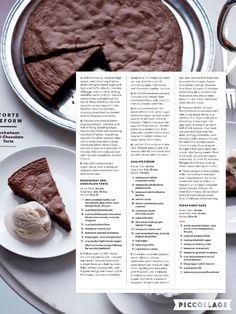Buckwheat Chocolate Cake & Chai Ice Cream from Martha Stewart February 2016