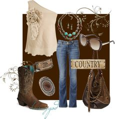 """""""Spring Country"""" by heismygod on Polyvore"""