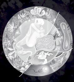 Schoko Louvre  You can buy this piece here: www.artrebels.com #artrebels #blackandwhite #art