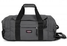 Handgepäckstasche Trolley Woven Grey Eastpak Leatherface S Nylons, Trolley, Sport, Grey, Bags, Suitcase, Gray, Handbags, Deporte