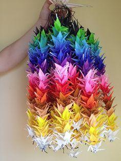 1000 paper cranes display - Google Search