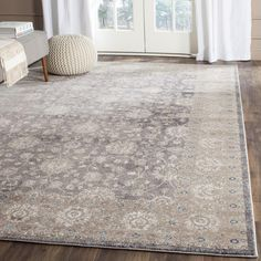 Safavieh Sofia Collection Vintage Light Grey and Beige Distressed Area Rug x - As good as you could possibly expect.This Safavieh that is rank Grey Rugs, Beige Area Rugs, Luxury Area Rugs, Safavieh, Grey And Beige, Colorful Rugs, Vintage Lighting, Cool Rugs, Green Rug