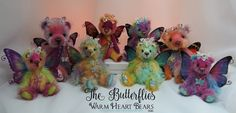 The Butterfly Collection by Carolyn Robbins (Warm Heart Bears & Friends)