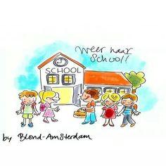 Weer naar school!