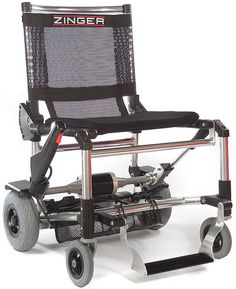 Zinger Folding Power Chair