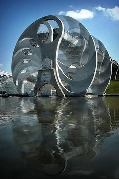 Falkirk Wheel | Scotland Children's area looks great for teaching them about canals and waterways