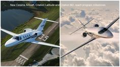 Two New Cessna Business Aircraft The Citation Latitiude And Citation