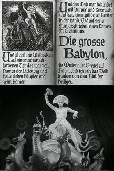 The robot Maria as the Whore of Babylon in Metropolis