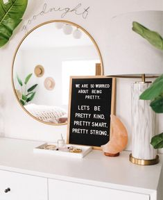 Quote of the day, cute bedroom decor ideas. Cute Bedroom Decor, Cute Bedroom Ideas, Trendy Bedroom, Bedroom Inspo, Wall Decor Boho, Cute Wall Decor, Decoration Inspiration, Room Inspiration, Decor Ideas