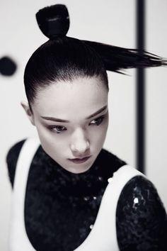 Yumi Lambert by Yu Cong forHarper's Bazaar China - Dior