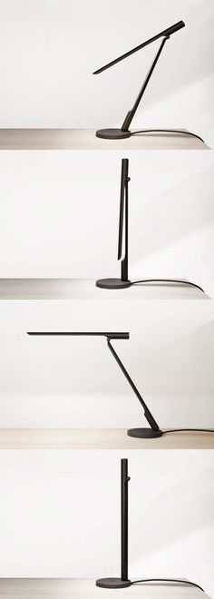 Very concise folding desk lamp
