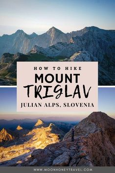 A detailed guide to how to hike to Mount Triglav from Pokljuka Plateau in Slovenia in 2 days. Find out how to get to the trailhead, where to stay the night (Dom Planika), and what equipment you need to safely hike the Triglav Via Ferrata.   #slovenia #triglav #mounttriglav #slovenianalps #julianalps #alps #summer #hiking #trekking #viaferrata #visitslovenia #triglavnationalpark Visit Slovenia, Slovenia Travel, Kayaking Tips, Julian Alps, Adventure Activities, Best Hikes, Stay The Night, Hiking Trails, The Great Outdoors