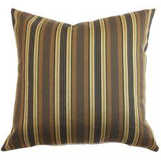 Paton Stripes Throw Pillow
