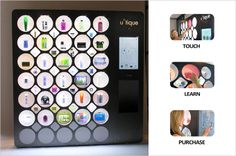 the u*tique shop: luxury vending machine by russell greenberg