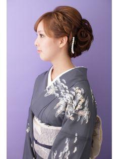 イチコ ichiko【和装】 編み込みアップスタイル ≪ichiko≫