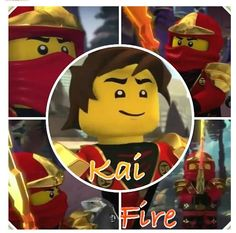 Kai Smith, the ninja of fire.