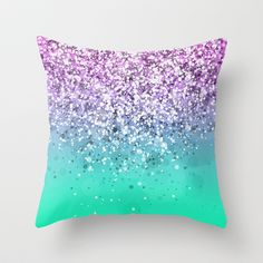 Spark Variations III Throw Pillow by Rain Carnival - $20.00