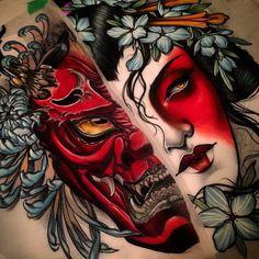 hannya tattoo - Pesquisa Google                                                                                                                                                                                 Más