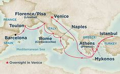 12-Night Mediterranean Cruise