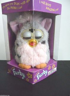 Original Furby: $900 1998 unopened box value