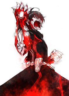 sukeno yoshiaki sousei no onmyouji enmadou rokuro male Otaku Anime, Anime Art, Rokuro And Benio, Adashino Benio, Character Art, Character Design, Arata Tokyo Ghoul, Fairy Tail Comics, Twin Star Exorcist