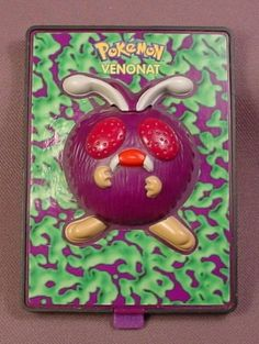 1999 Burger King: Pokemon 2000 Venonat Power Card (HAD)