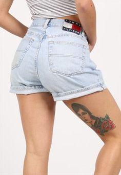 Vintage Tommy Hilfiger Denim Shorts