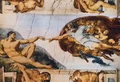 MICHELANGELO, particolare soffitto cappella Sistina